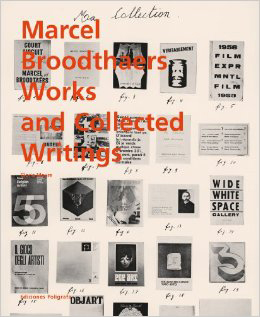 Broodthaers works and collected writings