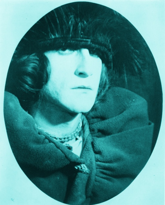 Marcel Duchamp as Belle Haleine. Photo by Man Ray, 1921.